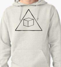 Delta Cubes Will Never Die! (Black) Pullover Hoodie