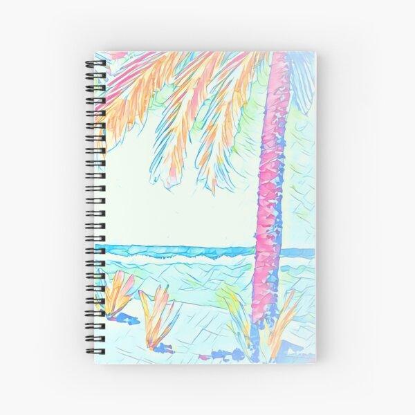 Beach: Social Distancing Spiral Notebook