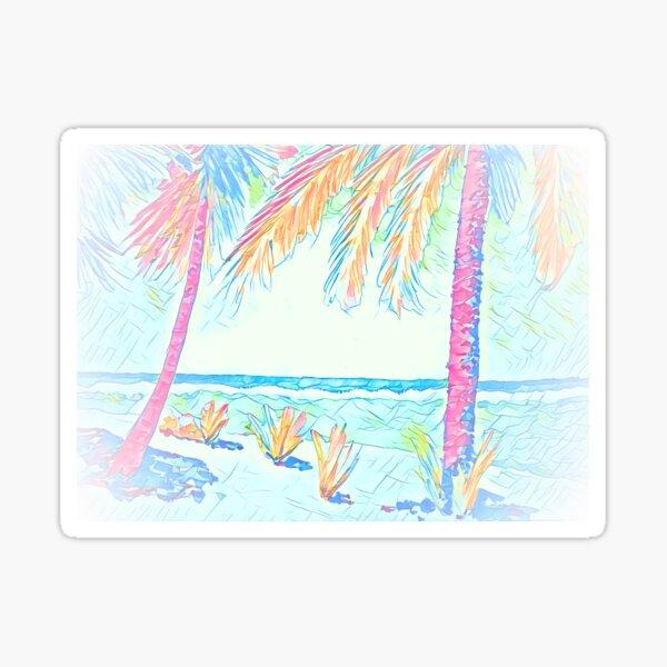 Beach: Social Distancing Sticker