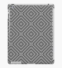 Silver Square Tiled iPad Case/Skin