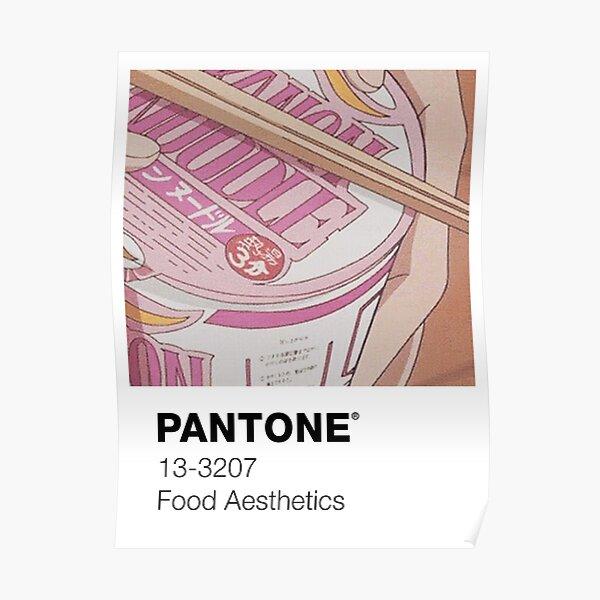 PANTONE ANIME Poster
