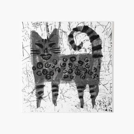 Alley Cat 3 Art Board Print