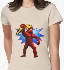 Andy Banana Womens Fitted T-Shirt