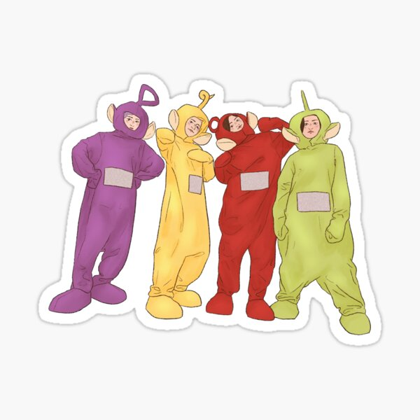 Mamamoo Teletubbies!! Sticker