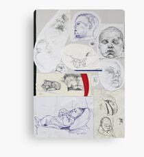 Sketch Book item 3 Canvas Print