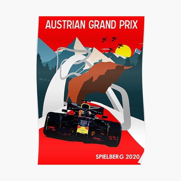 Austrian Grand Prix 2020 Poster