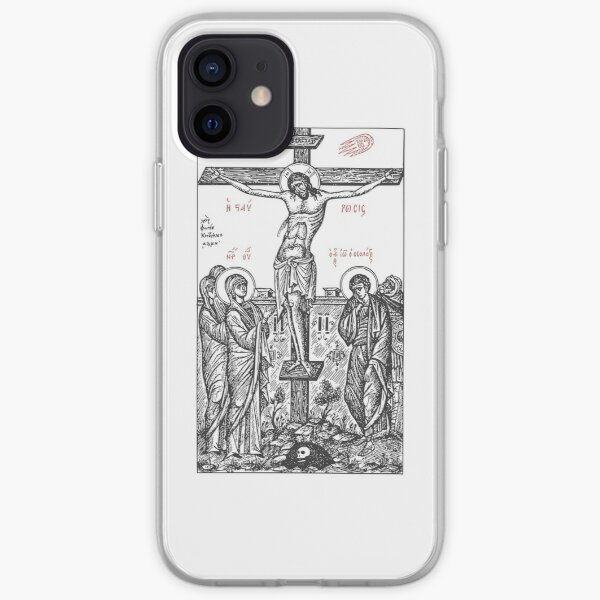The Death of Christ Orthodox iPhone Soft Case