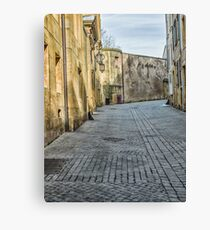 Empty Street Canvas Print