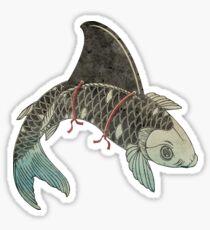 Koi Shark Fin Sticker