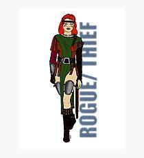 Rogue/Thief Photographic Print