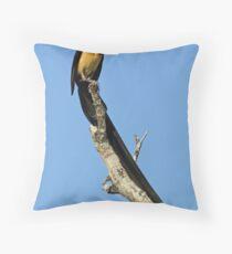 Paradise Whydah Throw Pillow