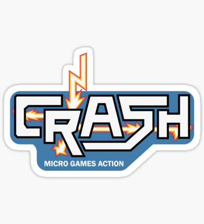 Crash - the Spectrum magazine Sticker