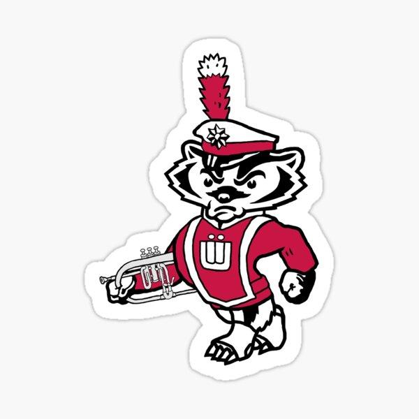 Marching Mascot with a Flugelhorn Sticker