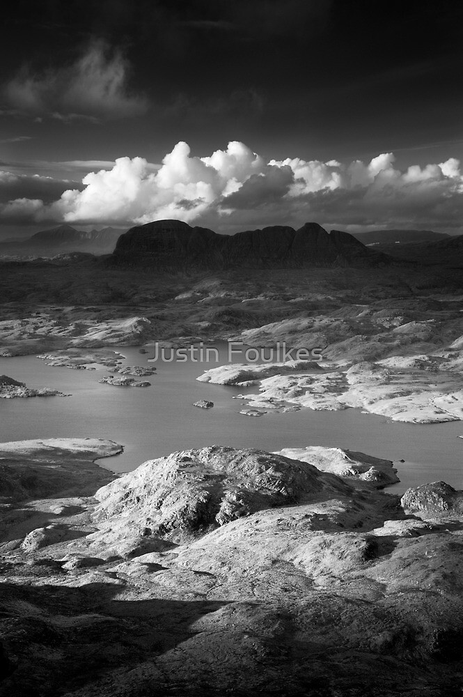Suilven, Sutherland, Scotland. by Justin Foulkes