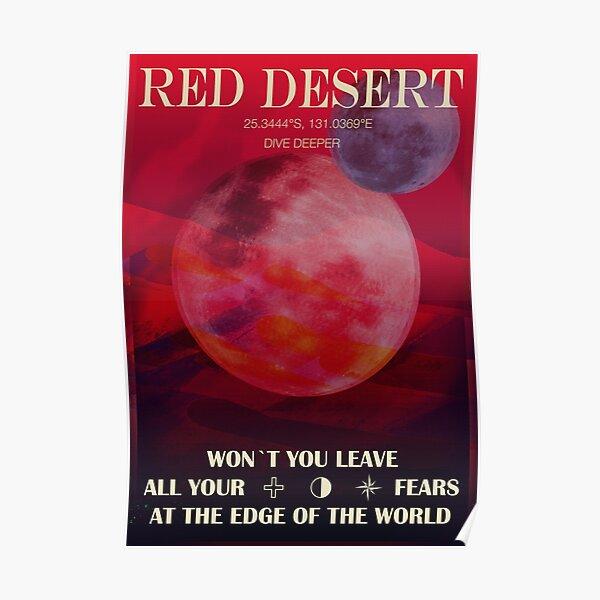Red Desert Poster