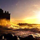 Ne'erday Portencross Storm by George Crawford