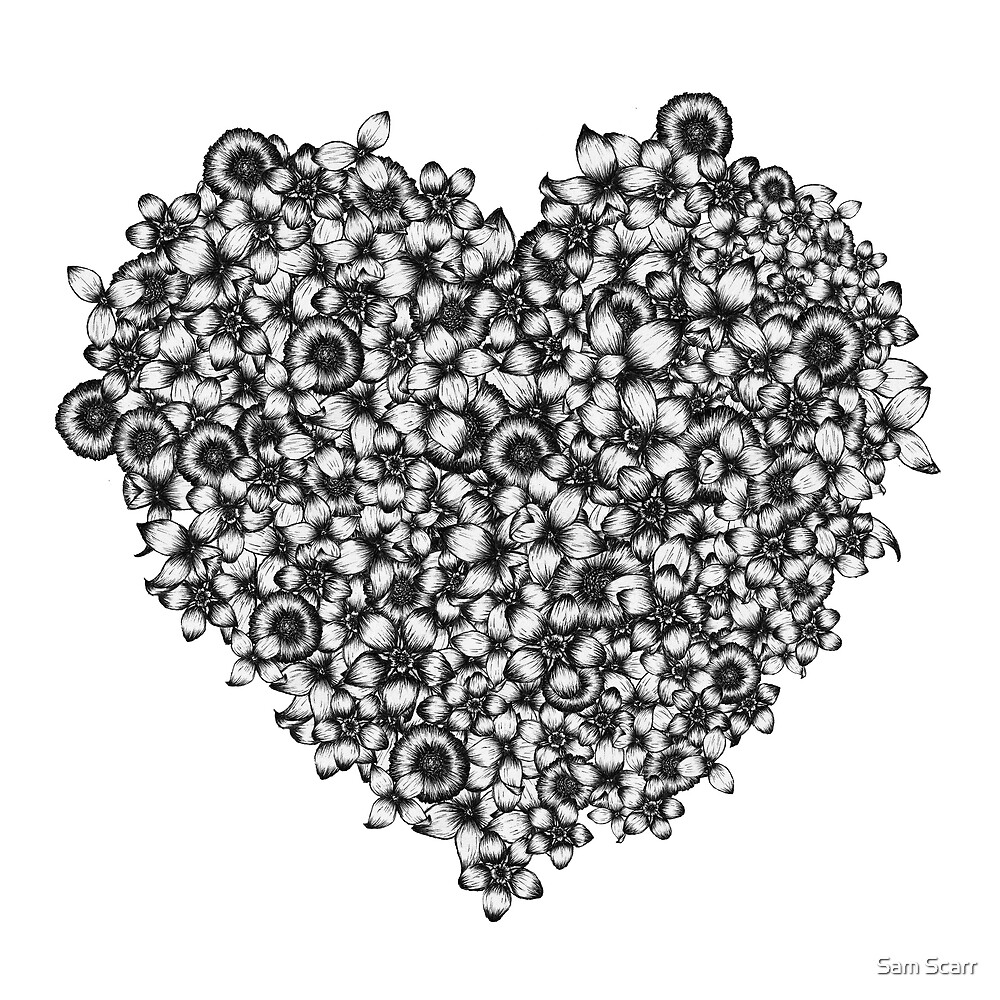 Hearts of Flowers by samclaire
