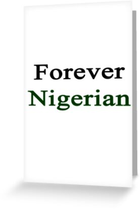 Forever Nigerian by supernova23