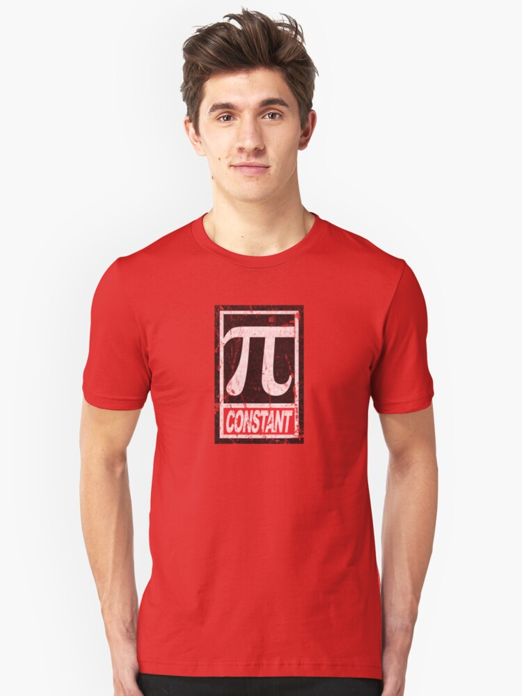 "Obey-Series ""PI (Constant)"" Unisex T-Shirt Front"