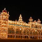 Mysore Palace Entrance View by Suresh Babu Subramanian
