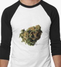 Marijuana Nugget Men's Baseball ¾ T-Shirt