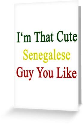 I'm That Cute Senegalese Guy You Like by supernova23