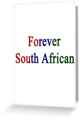 Forever South African by supernova23