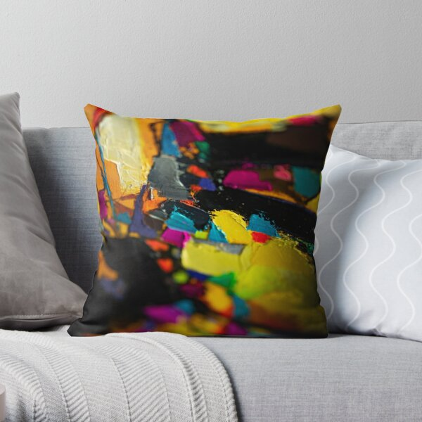 Painting Detail Design 3 Throw Pillow