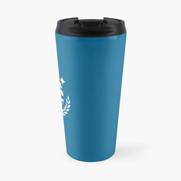 SGAC Logo White Square Travel Mug
