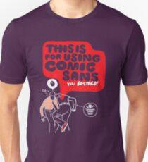 Comic sans T-Shirt