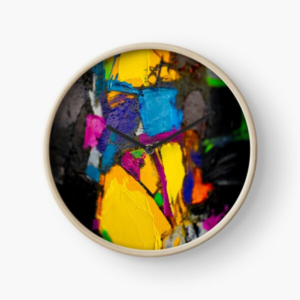 Painting Detail Design 1 Clock