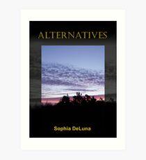 Alternatives - eBook cover Art Print