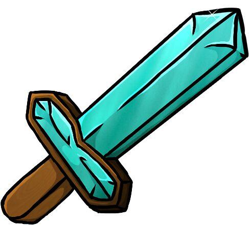 how to draw a diamond sword wikihow