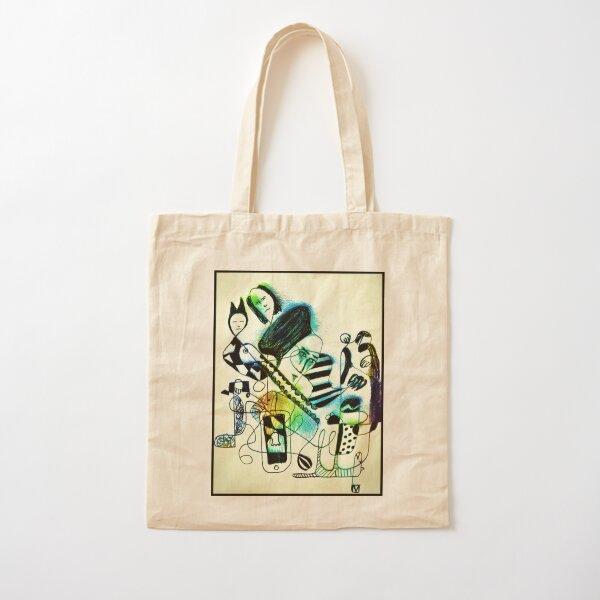 Creative Daubster Cotton Tote Bag