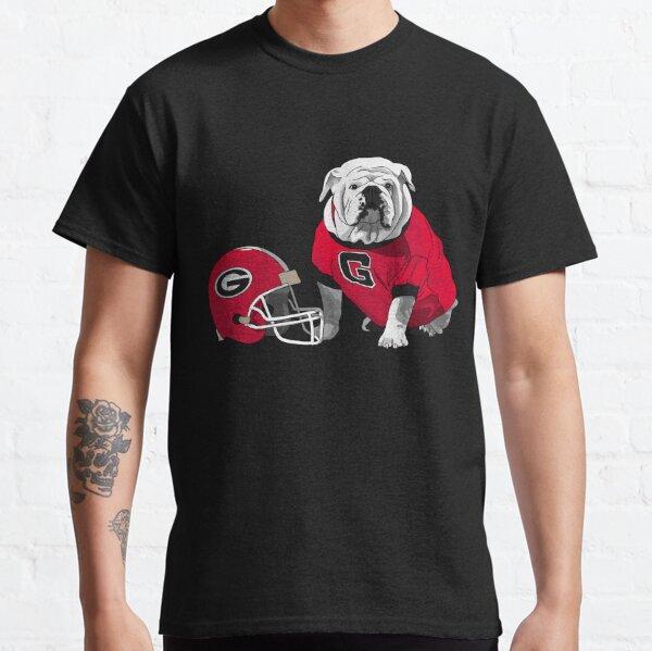 UGA Bulldog with Helmet Classic T-Shirt