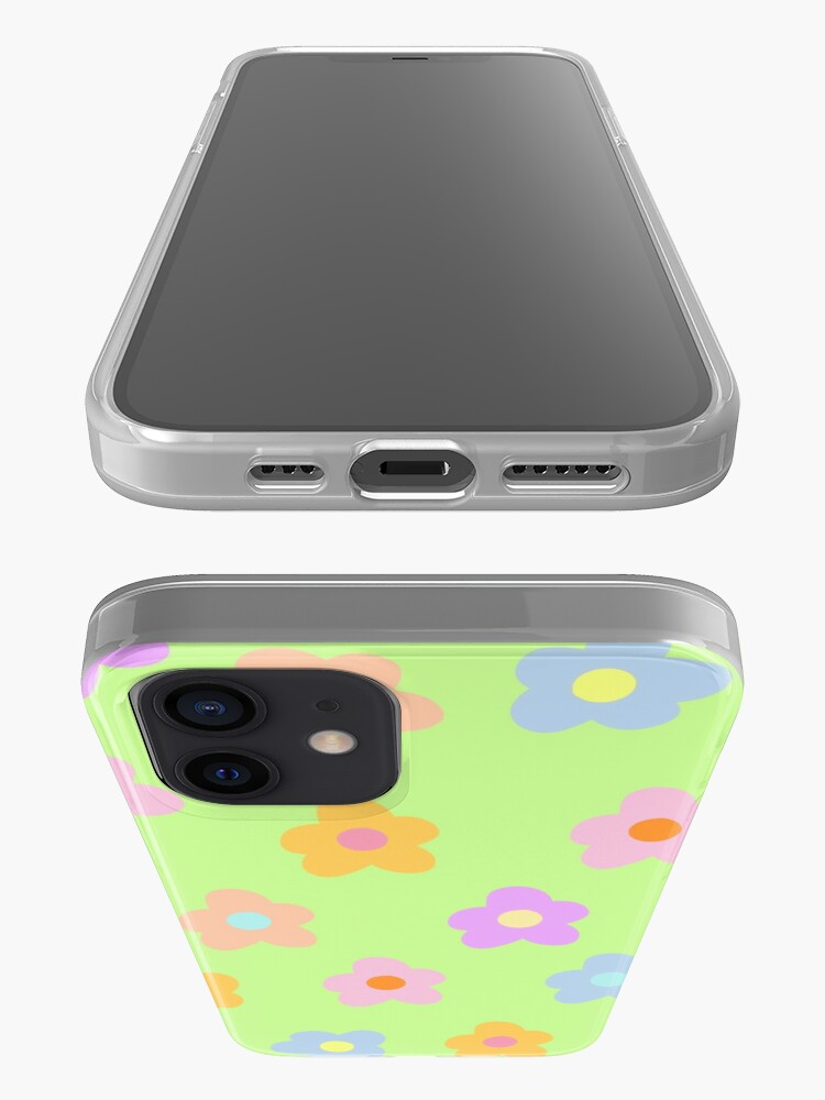 Alternate view of pastel 5-petal flowers  iPhone Case & Cover