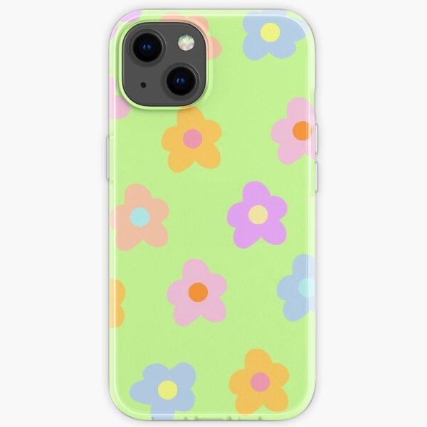 Pastell 5-Blütenblatt Blüten iPhone Flexible Hülle