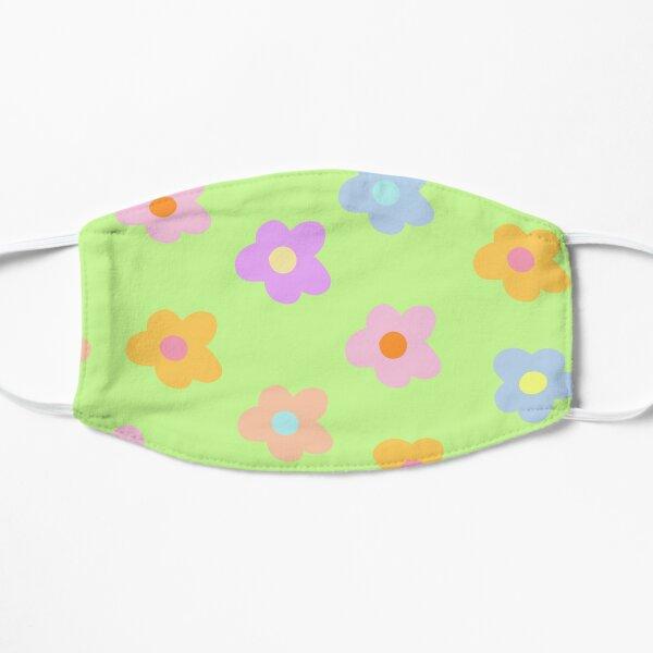 pastel 5-petal flowers  Mask