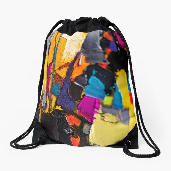 Painting Detail Design 4 Drawstring Bag