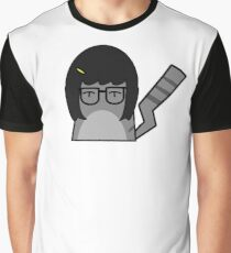 Tina Cat Graphic T-Shirt