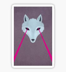 Coyote by Wylee Sanderson Sticker
