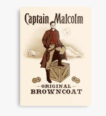 Captain Malcolm  Metal Print