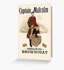 Captain Malcolm  Greeting Card