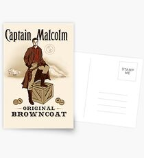 Captain Malcolm  Postcards