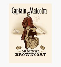 Captain Malcolm  Photographic Print