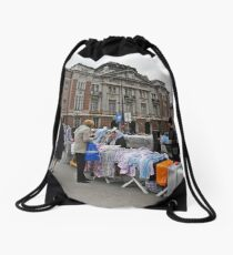 Open bazaar Drawstring Bag