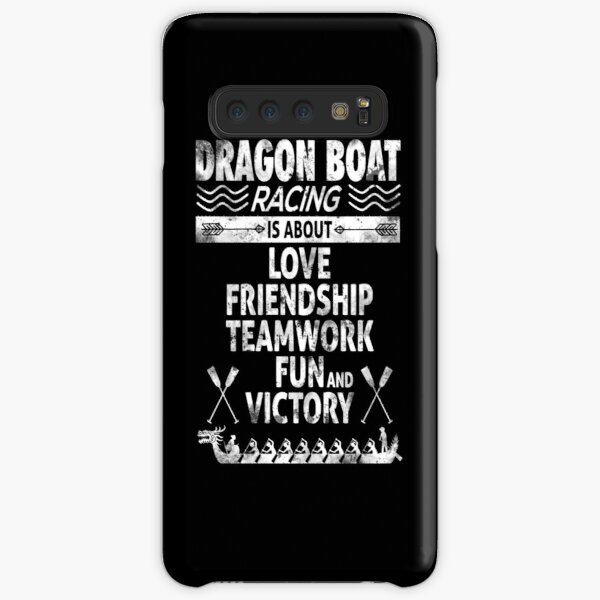 Dragon Boat Racing is About Love Friendship Teamwork Samsung Galaxy Snap Case