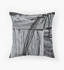 Post and Wire Throw Pillow