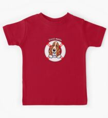 Basset Hound :: First Mate Kids Tee