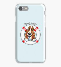 Basset Hound :: First Mate iPhone Case/Skin